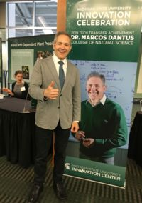 Image of Marcos Dantus at the Innovation Celebration