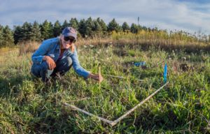 Image of Anna Funk in field